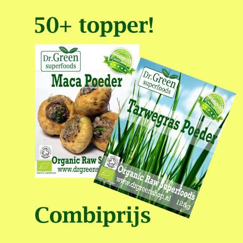 50+ topper (tarwegras&maca)